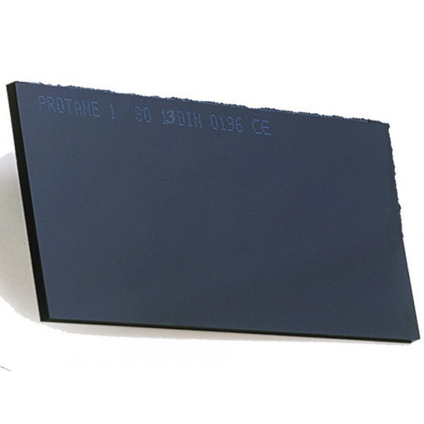 Filtre de protection soudure de rechange. Echelon n°13. 108 x 51 mm.