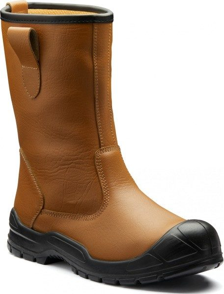 BOTTE CUIR S3  RIGGER NON FOURREES